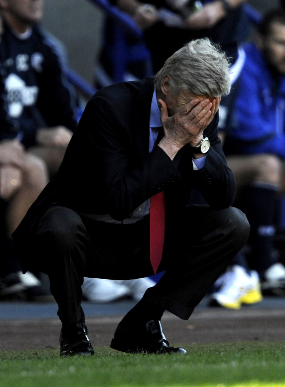 After a disappointing 2010/11 season in which Arsenal's trophy drought was extended to a sixth successive season, the pressure on Arsene Wenger has increased, just a little bit, ahead of the new campaign.