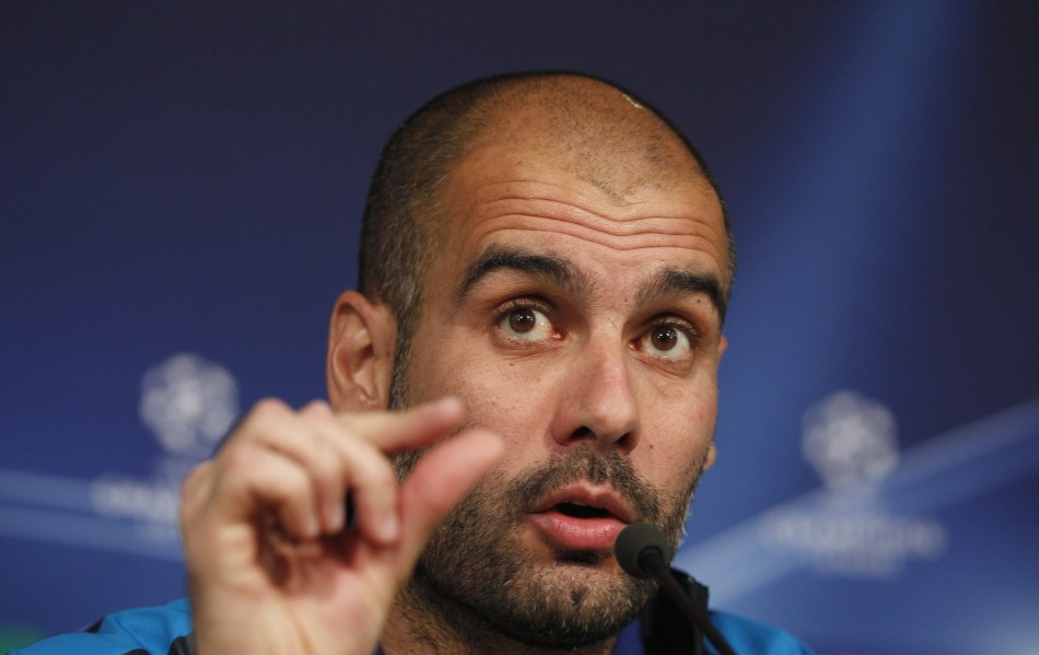 Barcelona coach Pep Guardiola is prepared to alter his team's travel plans ahead of this Saturday's Champions League final