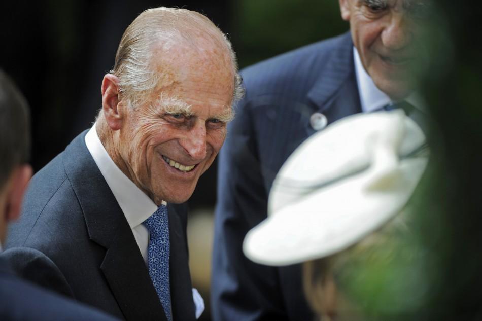 Britain's Prince Phillip, the Duke of Edinburgh,