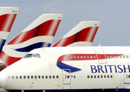A British Airways  (BA) Boeing 747 is seen as it taxis at Heathrow Airport in west London  in this May 11, 2010 file photograph