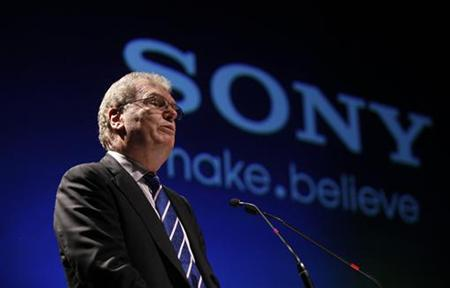 Howard Stringer, CEO and president of Sony Corporation, speaks at a function to launch the Sony Media Technology Centre on the outskirts of Mumbai
