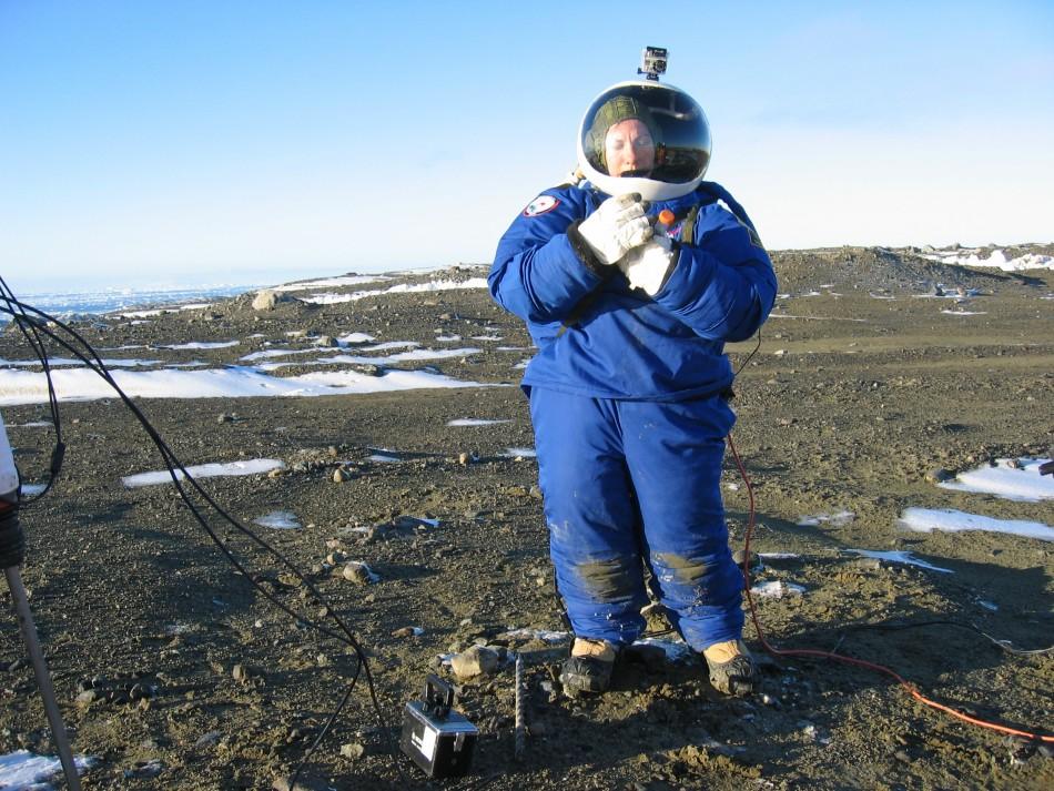 NASA Mars Space Suit