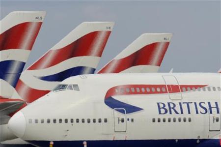 A British Airways aircraft