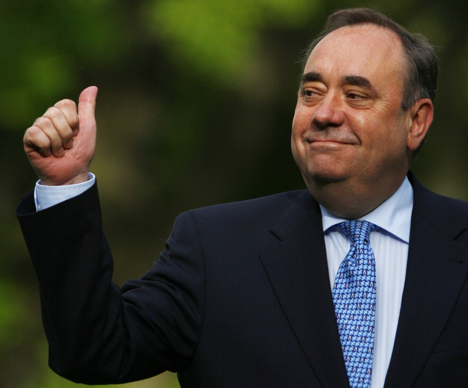 Scotland's First Minister, and leader of the SNP, Alex Salmond