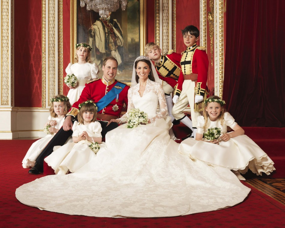 Official photographs of the Royal Wedding.