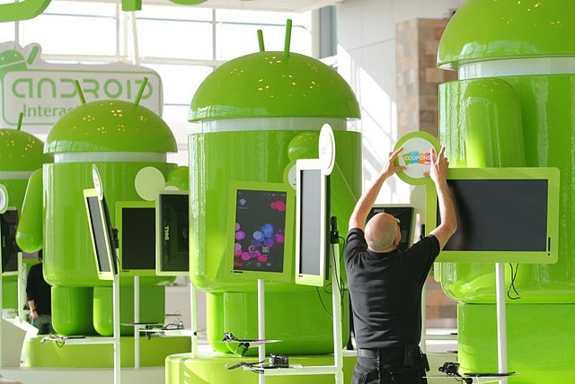 Android Mascot at Google I/O