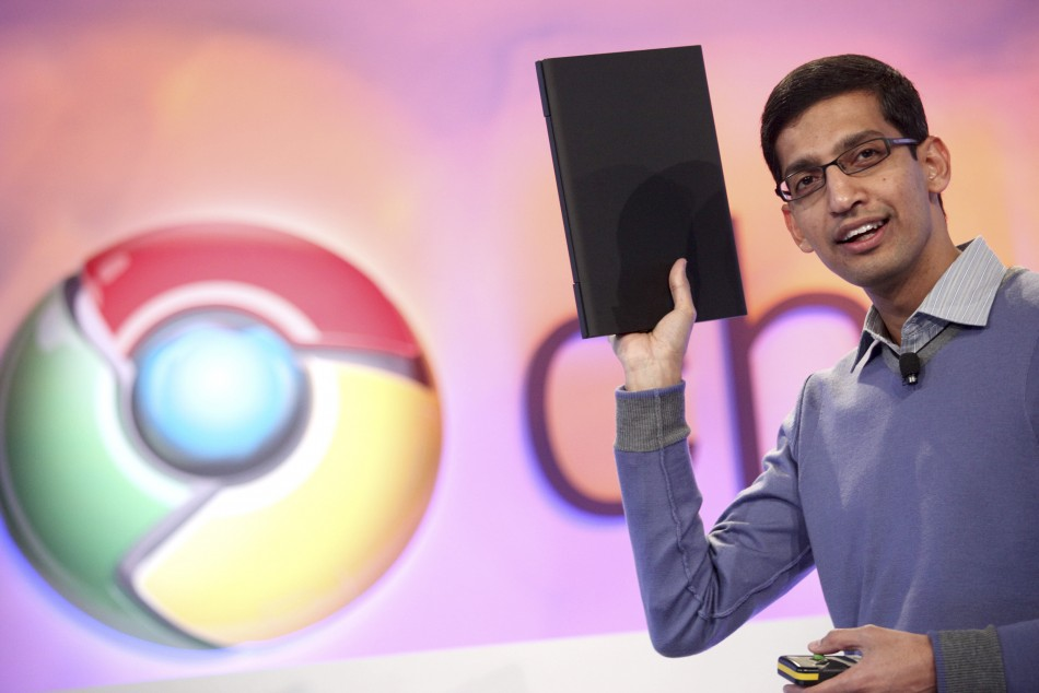 Google launches Chrome PCs, takes on Microsoft