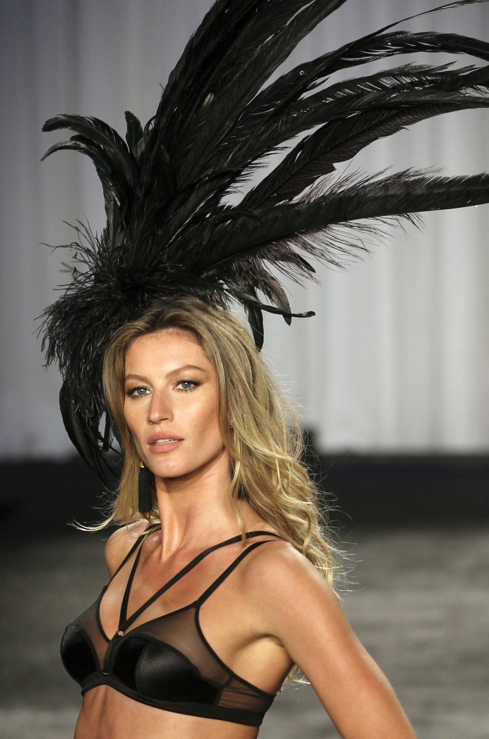 Supermodel Gisele Bundchen displays 'Intimate' collection by Hope Lingerie.