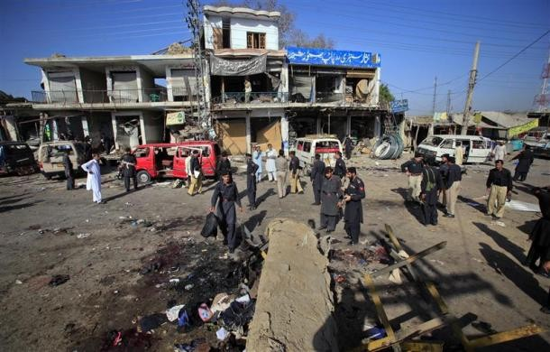 Taliban Deadly Suicide Bombing in Pakistan [SLIDESHOW]