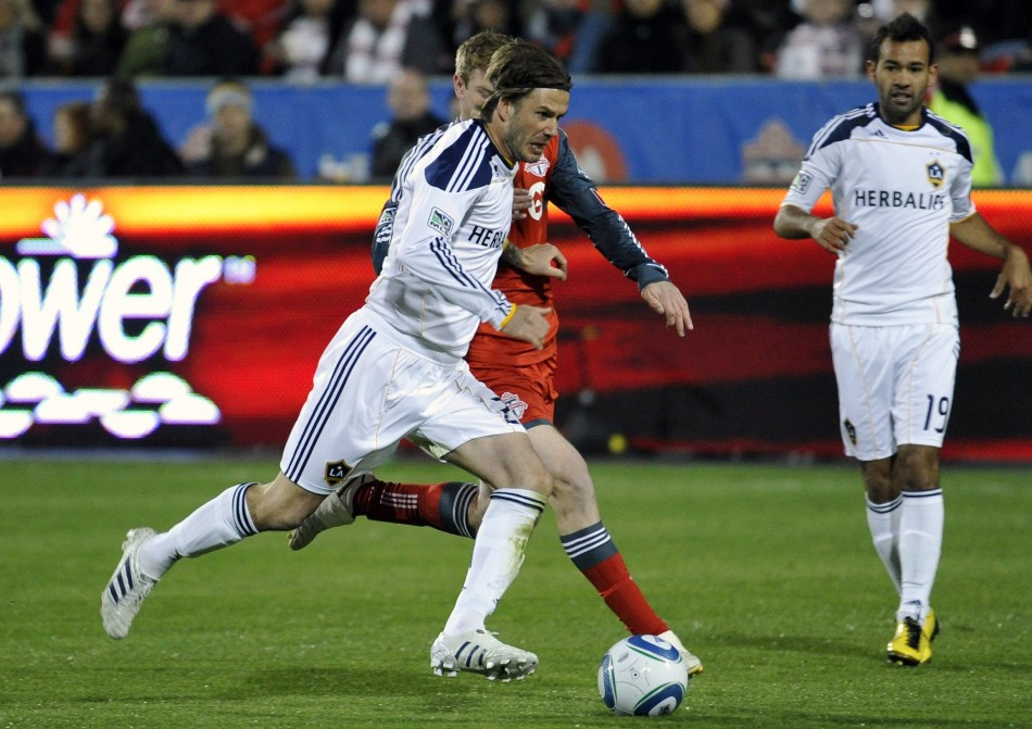David Beckham still harbours a desire to play in the Olympics