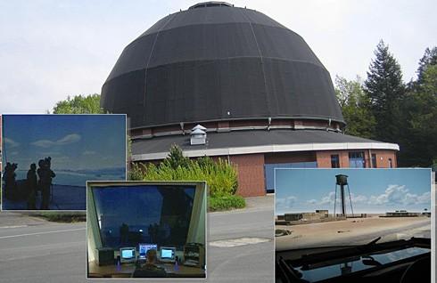 STINGER dome simulator