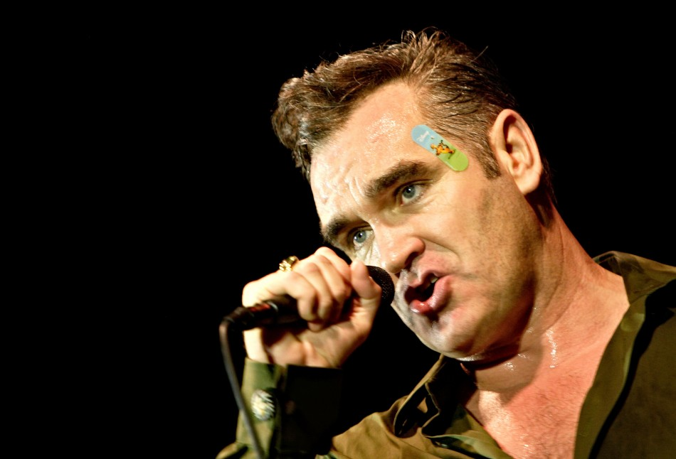 Singer Morrissey, former frontman of The Smiths