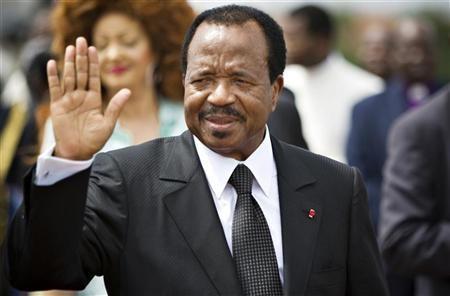 Cameroon's President Paul Biya