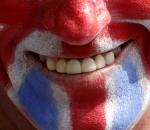 Union Jack smile