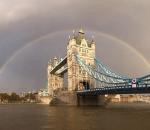 tower bridge rainbow