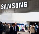 Samsung logo at IFA 2015