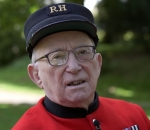 Chelsea Pensioner Fred Richardson