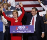 Ted Cruz and Carly Fiorina
