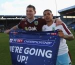 Sam Vokes and Andre Gray