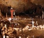 bruniquel cave structures