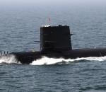 China submarine, Yellow Sea