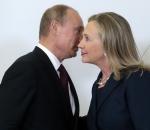 Vladimir Putin and Hillary Clinton (2012)
