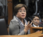 Phillipines senator Leila de Lima