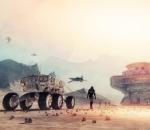 Mars concept art