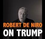 Robert de Niro speaks against Donald Trump