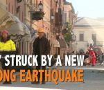 Italy struck by new earthquake