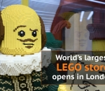 Lego store opens in London