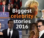 Biggest celebrity stories of 2016