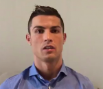 Cristiano Ronaldo sends message of hope to Syrian children