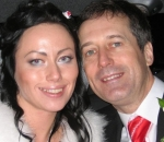 Barry Pring and his wife Ganna Ziuzina