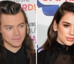 Harry Styles and Dua Lipa