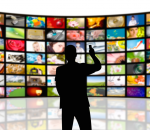 TV media streaming