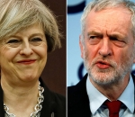 Theresa May, Jeremy Corbyn