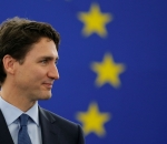 Justin Trudeau European Parliament address