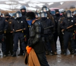 riot police dakota pipeline