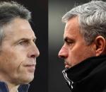 Claude Puel and Jose Mourinho