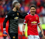 David De Gea and Ander Herrera