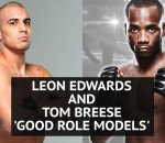 UFC London: Leon Edwards and Tom Breese 'good role models'