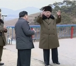 Kim Jong-un oversees North Korea's high-thrust rocket engine test
