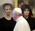 Melania Ivanka Trump Pope