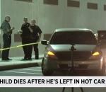 Child dies in car