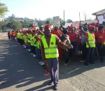 South African shack dwellers protest 'politics of lies and oppression'
