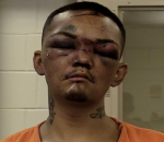 Angelo Martinez was beaten and restrained after being charged with trying to steal a car from a group of football players