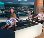 Toddler highjacks live interview on ITV News