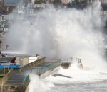 Storm Ophelia batters Britain