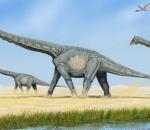 Alamosaurus dinosaur.